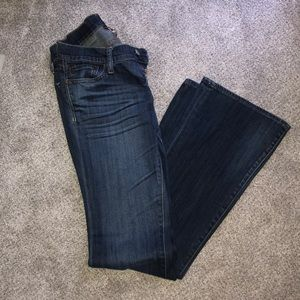 Like New Women's Lucky Brand Flare Jeans 00/24